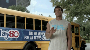 NFL Play 60 TV Spot, 'Your Mom's Favorite Player', Featuring Cam Newton - Thumbnail 8