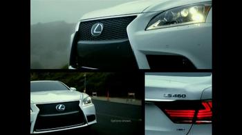 2013 Lexus LS F Sport TV Spot, 'Think Again' - Thumbnail 4