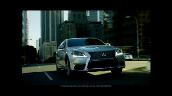 2013 Lexus LS F Sport TV Spot, 'Think Again' - Thumbnail 6