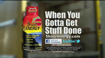 5 Hour Energy TV Spot, 'Truck Loader' - Thumbnail 8