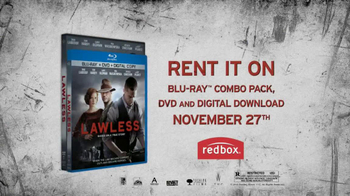Lawless on Blu-Ray and DVD TV Spot
