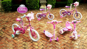 Huffy Disney Princess Bikes TV Spot