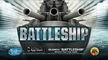 Deluxe Battleship Movie Edition TV Spot, 'Get in the Battle and on the App!' - Thumbnail 8
