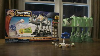 Angry Birds: Star Wars At-At-Attack TV Spot, ' Cartoon Network: Launch the Birds'