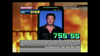 Jamster TV Spot Featuring Blake Shelton - 392 commercial airings