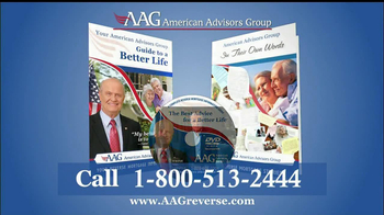 American Advisors Group TV Spot, 'Government Insured' Feat. Fred Thompson - Thumbnail 8