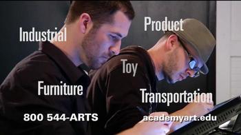 Academy of Art University TV Spot, 'Industrial Design' - Thumbnail 5