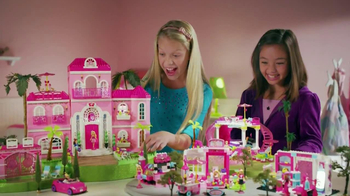 Mega Bloks Barbie TV Spot