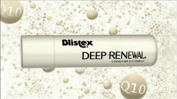 Blistex Deep Renewal TV Spot