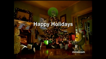 M&M's TV Spot, 'Fainting Santa'