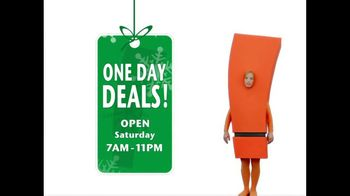 Big Lots One Day Deals TV Spot 'Saturday Only'