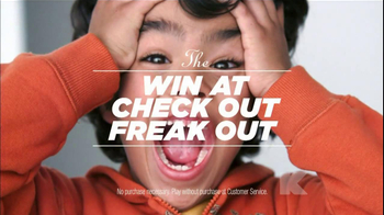 Kmart TV Spot, 'The Win at Check Out Freak Out'