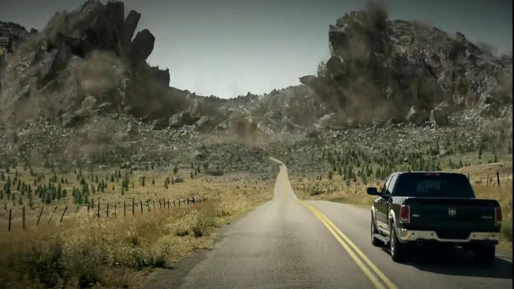 2013 RAM 1500 TV Commercial, 'Air Suspension'