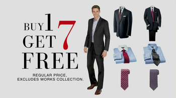 JoS. A. Bank TV Spot, 'Buy One, Get 7 Free: Suit'