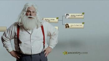 Ancestry.com Gift Memberships TV Spot, 'Santa Claus'