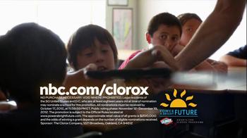 Clorox Power a Bright Future TV Spot, 'Experiement' Featuring Sam Jaeger - Thumbnail 10