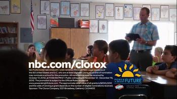 Clorox Power a Bright Future TV Spot, 'Experiement' Featuring Sam Jaeger - Thumbnail 9