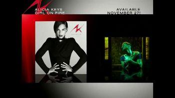 Alicia Keys Girl on Fire TV Spot