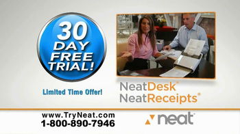 Neat Desk and Receipts TV Spot, 'Paper' - Thumbnail 9