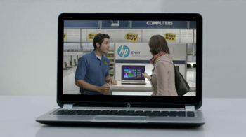 HP Envy 4 Touchsmart Ultrabook TV Spot, 'Touch' - Thumbnail 9
