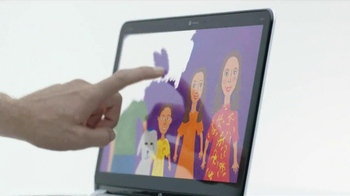 HP Envy 4 Touchsmart Ultrabook TV Spot, 'Touch' - Thumbnail 7