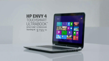 HP Envy 4 Touchsmart Ultrabook TV Spot, 'Touch' - Thumbnail 8