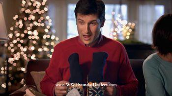 Hyundai Holiday Sales Event TV Spot, 'Socks' - 356 commercial airings