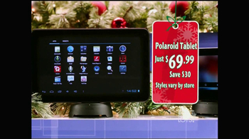 Big Lots TV Spot, 'Big Savings: Polaroid Tablet' - 97 commercial airings