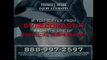 Thomas J. Henry Injury Attorneys TV Spot, 'Gynecomastia'
