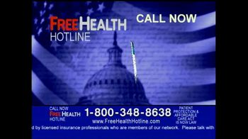 Free Health Hotline TV Spot