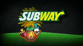 Subway Western Egg and Cheese TV Spot, 'December $5-Footlong' - Thumbnail 1