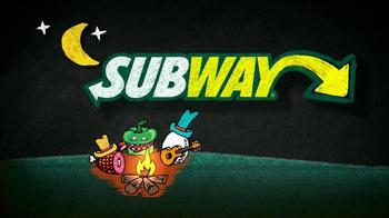Subway Western Egg and Cheese TV Spot, 'December $5-Footlong' - Thumbnail 2