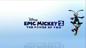 Disney Epic Mickey 2: The Power of Two TV Spot, 'The Next Chapter' - Thumbnail 9