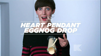 Kmart TV Spot 'Heart Pendant Eggnog Drop' Song Asia Bryant - 102 commercial airings