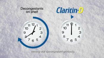 Claritin-D TV Spot, 'Sledding' - Thumbnail 6