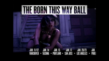 Lady Gaga's Born This Way Ball TV Spot  - Thumbnail 3