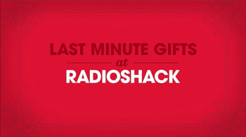 Radio Shack TV Spot, 'Last-Minute Gifts'  - Thumbnail 1