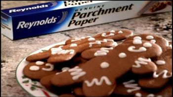 Reynolds Parchment Paper TV Spot, 'Gingerbread Cookies'