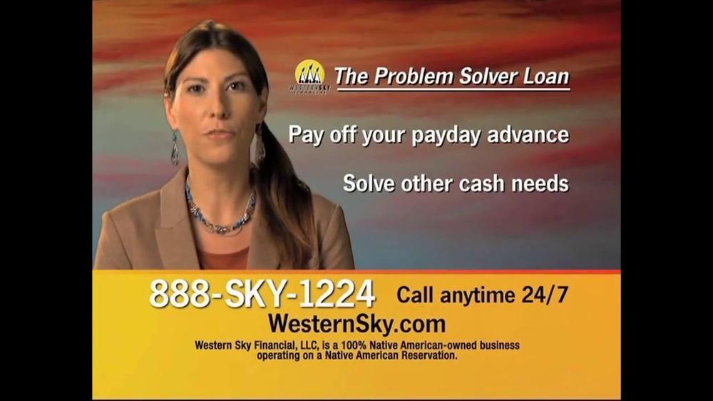 Western Sky Loans >> Western Sky Financial Problem Solver Loan TV Spot - iSpot.tv