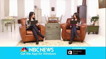 NBC News App TV Spot, 'Twins' - Thumbnail 7