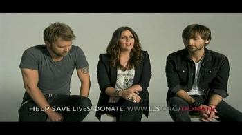 The Leukemia & Lymphoma Society TV Spot Featuring Lady Antebellum - 187 commercial airings