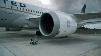 General Electric Jet Engine TV Spot, 'United Airplane'