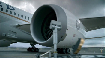 General Electric Jet Engine TV Spot, 'United Airplane' - Thumbnail 4