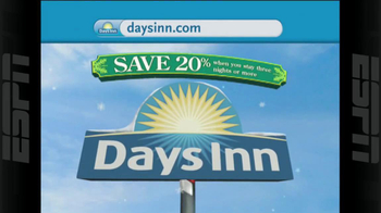 Days Inn TV Spot, 'Holidays: Save 20%' - Thumbnail 1