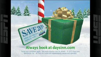 Days Inn TV Spot, 'Holidays: Save 20%' - Thumbnail 3