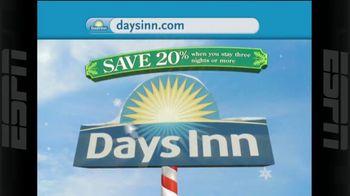 Days Inn TV Spot, 'Holidays: Save 20%'