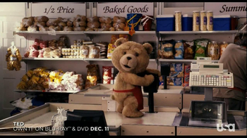 Ted Unrated Blu-ray and DVD TV Spot
