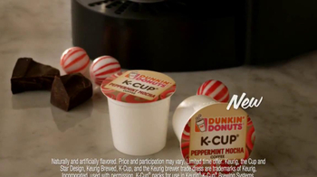 Peppermint Mocha & Hot Cocoa Dunkin' Donuts K-Cups TV Spot, 'Holiday Party' - Thumbnail 6