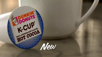 Peppermint Mocha & Hot Cocoa Dunkin' Donuts K-Cups TV Spot, 'Holiday Party' - Thumbnail 7