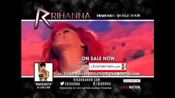 Rihanna Diamonds World Tour TV Spot  - Thumbnail 10